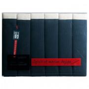 салфетки синие сервировочные 6 штук 30х42 см
